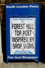 top poet inspired by shop signs
